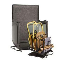 BESTOP HOSS Hardtop Carrier & Door Storage Cart In Black For 2007-18 Jeep Wrangler JK 2 Door & Unlimited 4 Door Models 42805-01