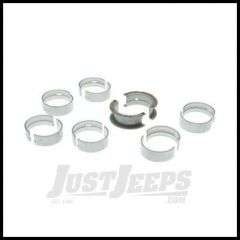 Omix-ADA Bearing Set Main For 1968-90 Jeep CJ Series, YJ, XJ & Full Size Jeep With 6 CYL 199/232/258 (4.2L/242/4.0L), .020 Oversized 17465.37