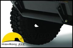 BESTOP HighRock 4X4 Approach/Departure Roller In Stain Black For Highrock 4X4 Bumpers 42905-01