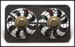 """Flex-A-Lite Twin Pusher 12"""" Fan in Black 440"""