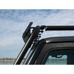 Garvin Wilderness Wind Deflector, Adventure Rack For 1997-18 Jeep Wrangler TJ, JK & Wrangler Unlimited JK 44088