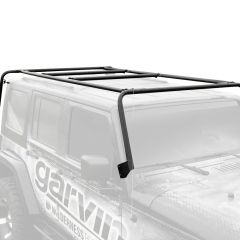 Garvin Wilderness Adventure Rack For 2007-18 Jeep Wrangler JK 2 Door Models 44092