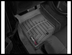 WeatherTech DigitalFit Front Floor Liner In Black For 2007-13 Jeep Wrangler JK 2 Door & Unlimited 4 Door Models 441051