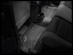 WeatherTech DigitalFit Rear Floor Liner In Black For 2007-13 Jeep Wrangler Unlimited 4 Door Models 441052