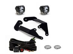 Baja Designs S1 Series A-Pillar Kit - Clear for 21+ Ford Bronco Sport 447688