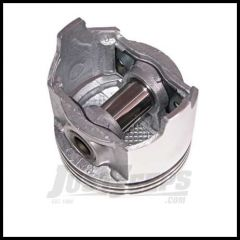 Omix-ADA Piston With Pin For 1966-78 CJ Series With  6 CYL 232 Or 258(4.2L) Standard Size 17427.18