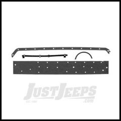 Omix-ADA Oil Pan Gasket Set For 1968-90 Jeep CJ Series & Wrangler YJ With 6 CYL 232 or 258 17439.05