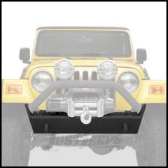 BESTOP HighRock 4X4 Narrow Front Bumper With D-Ring Mounts In Matte/Textured Black For 1997-06 Jeep Wrangler TJ & TLJ Unlimited 44930-01