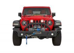 BESTOP Highrock 4x4 Modular Front Bumper For 2018+ Jeep Gladiator JT, Wrangler JL & JL Unlimited 4 Door Models 44955-01