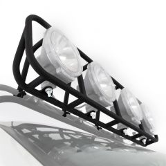 SmittyBilt Defender Series Roof Rack Add On Light Cage For 4.5' Wide Racks 45002