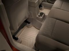 WeatherTech Rear Floor Liner In Tan For 2007+ Jeep Patriot & Jeep Compass Models 450862
