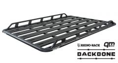 "Rhino-Rack Pioneer Platform Elevation RTL600 with Backbone System (72"" x 56"") -Assembled For 2007-18 Jeep Wrangler Unlimited JK Hardtop JA7699"