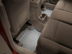 WeatherTech Rear Floor Liner In Grey For 2007+ Jeep Patriot & Jeep Compass Models 460862