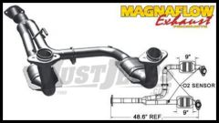 Magnaflow Direct Fit Catalytic Converter For 2005-07 Jeep Liberty KJ With 3.7L (Y-Pipe Assembly) 49186