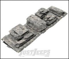 SmittyBilt G.E.A.R. Overhead Console In Camo For 2007-18 Jeep Wrangler JK 2 Door & Unlimited 4 Door Models 5666032