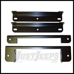 Omix-ADA Seat Bracket Adapter For 1976-90 Jeep CJ Series & Wrangler YJ 13203.01