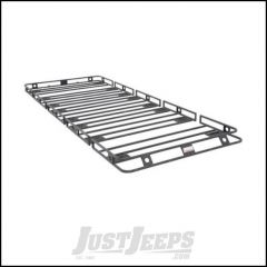 """SmittyBilt Defender Roof Rack 5' x 12' x 4"""" With HD Clamps & Brackets 50125HD"""