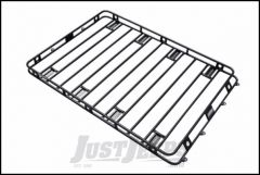 """SmittyBilt Defender Roof Rack 5' x 12' x 4"""" With AM Clamps & Brackets 50125AM"""