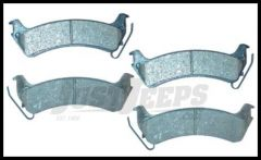 Omix-ADA Brake Pad Set Front For 1997-06 Jeep Wrangler TJ & Cherokee XJ 4777058