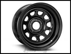 Pro Comp 51 Rock Crawler Series Wheel 17x9 With 5 On 5.00 Bolt Pattern & 4.25 Backspace In Flat black PCW51-7973F