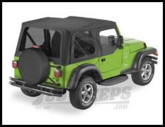 BESTOP Replace-A-Top With Half Door Skins & Tinted Windows For 2003-06 Jeep Wrangler TJ Models 51129-35