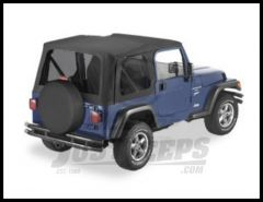 BESTOP Replace-A-Top With Tinted Windows For 2003-06 Jeep Wrangler TJ Fits Full Steel Doors 51193-35