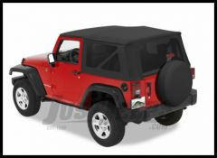 Pavement Ends Replay Replacement Top Black Diamond For 2010+ Jeep Wrangler JK 2 Door  51203-35