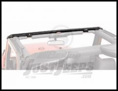 BESTOP Windshield Channel No Drill Style For Header Bikini For 1997-06 TJ Wrangler, Rubicon and Unlimited 51238-01