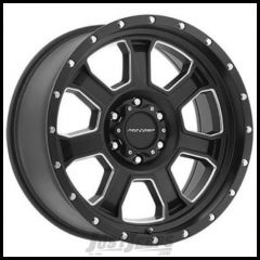 Pro Comp Series 43 Wheel 17 X 9 With 5 On 5.00 Bolt Pattern In Satin Black and Milled Finish PXA5143-7973