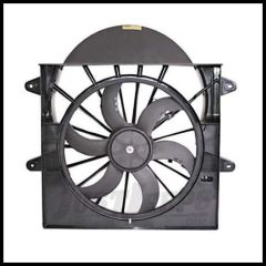 Omix-ADA Cooling Fan & Electric Motor Assembly With Shroud For 2005-10 Jeep Grand Cherokee 17102.54