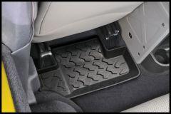 BESTOP Rear Floor Liners For 2007-10 Jeep Wrangler JK 2 Door Models 51502-01