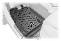 BESTOP Front Floor Liners For 1997-06 Jeep Wrangler TJ & TLJ Unlimited Models 51509-01