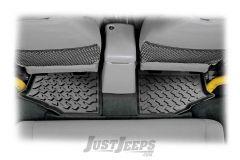 BESTOP Floor Liners Rear Floor Liners For 1997-06 Jeep Wrangler TJ & TLJ Unlimited Models 51510-01