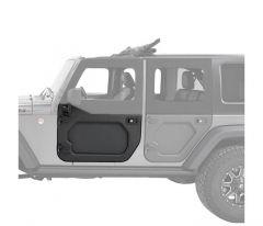 Bestop Core Door Front Pair For 2007-18 Jeep Wrangler JK 2 Door & Unlimited 4 Door Models 51730-01