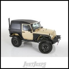SmittyBilt Safari (Textured Black) Hardtop For 2007-18 Jeep Wrangler JK 2 Door Models 517702