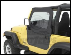 BESTOP Element Upper Doors In Black Diamond For 1997-06 Jeep Wrangler TJ & TLJ Unlimited 51793-35