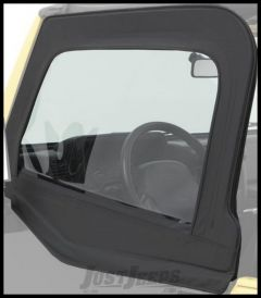 BESTOP Element Upper Doors In Black Denim For 1980-95 Jeep Wrangler YJ & CJ Series 51795-15