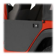 BESTOP Element Rear Doors Paintable Enclosure Kit For 2007-18 Jeep Wrangler JK Unlimited 4 Door Models 51804-01