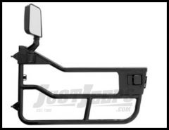 BESTOP HighRock 4X4 Element Doors in Stain Black For 1997-06 Jeep Wrangler TJ & TLJ Unlimited Models 51809-01