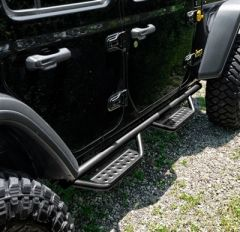 N-Fab Nerf Step RS for 2018+ Jeep Wrangler Unlimited JLU 518416612