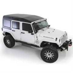 SmittyBilt Safari (Textured Black) Hardtop For 2007-18 Jeep Wrangler JK Unlimited 4 Door Models 518702