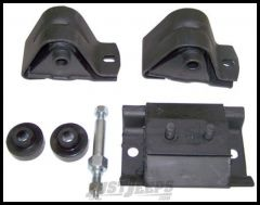 Omix-ADA Engine & Transmission Mount Kit For 1987-90 Jeep Wrangler YJ With 4 CYL 17474.02