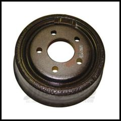 """Omix-ADA Brake Drum Rear for Jeep 1990-06 Jeep Wrangler YJ & TJ Cherokee XJ with 9"""" x 2-1/2"""" Drums 16701.08"""