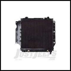 Omix-ADA Radiator 2 Core for 1987-91 Jeep Wrangler YJ 4 or 6 Cyl with or without AC Automatic or Manual 17101.11