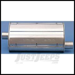 Omix-ADA Muffler For 1997-02 Jeep Wrangler TJ With 2.5L 17609.17