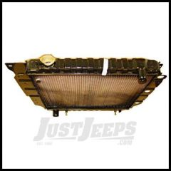 Omix-ADA Radiator 2 Core 1992-95 Jeep Wrangler 4 Or 6 CYL 17101.12