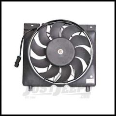 Omix-ADA Cooling Fan & Electric Motor Assembly For 1997-01 Jeep Cherokee 17102.52