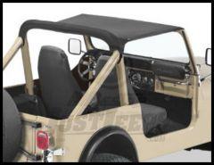 BESTOP Strapless Bikini Top In Black Crush For 1980-86 Jeep CJ7 52518-01