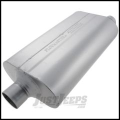 FlowMaster Super 50 Series Aluminized Steel Muffler For 1998 Jeep Grand Cherokee ZJ With 5.9Ltr Engine 52557