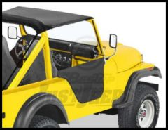 BESTOP Half Doors In Black Crush For 1976-83 Jeep CJ5 53027-01
